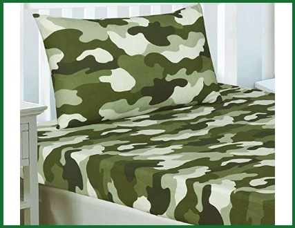 Lenzuola verde militare