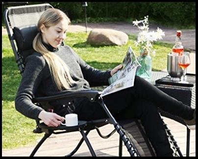 Sedia a sdraio reclinabile poltrona