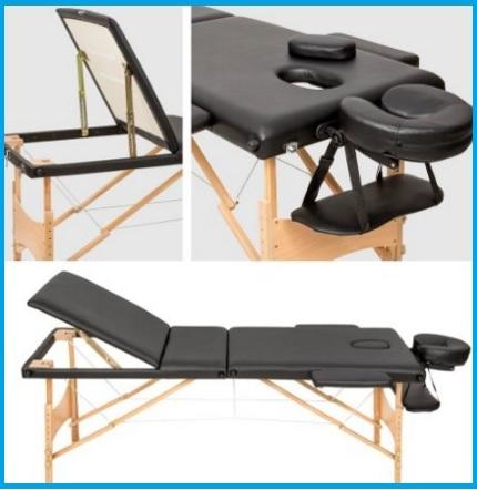 Lettini fisioterapia rivestimento in pelle e idrorepellente