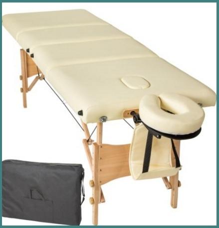 Lettini da massaggio in legno