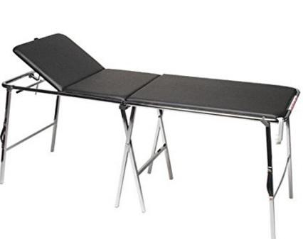 Lettino valigia pieghevole portatile per massaggi