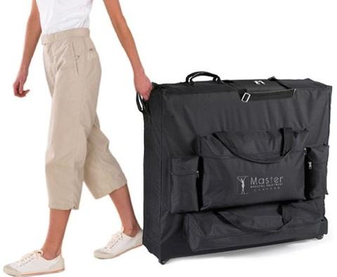 Valigia borsa con ruote per lettini massaggio