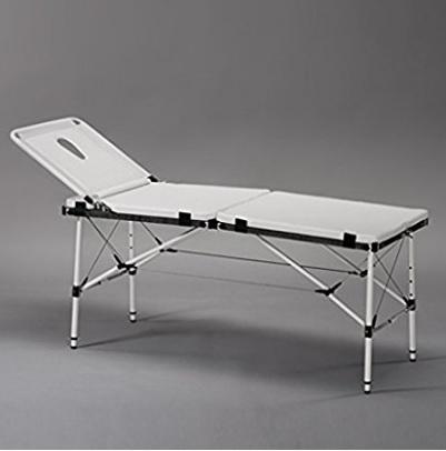 Lettino in alluminio pieghevole stile valigia