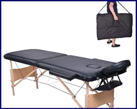 Lettino Massaggio 3 Zone Pieghevole