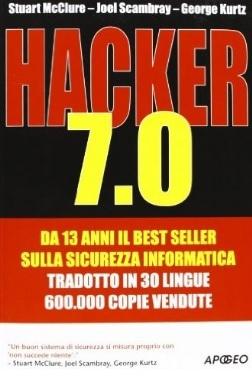 Hacker 7.0 testo sulla sicurezza informatica