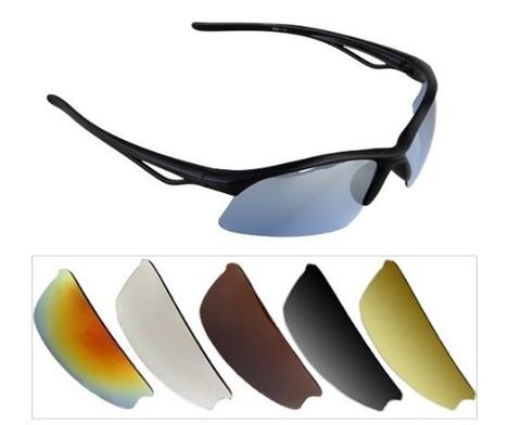 Occhiali Con 5 Lenti Diverse Sportivi Protezione Dal Sole