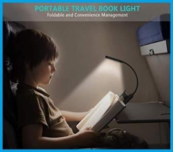Luce per lettura libro portatile