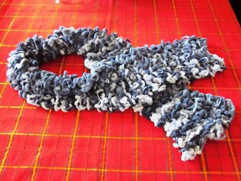 Lavori a maglia sciarpe