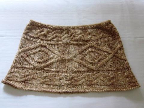 Coprispalle a ruota in lana