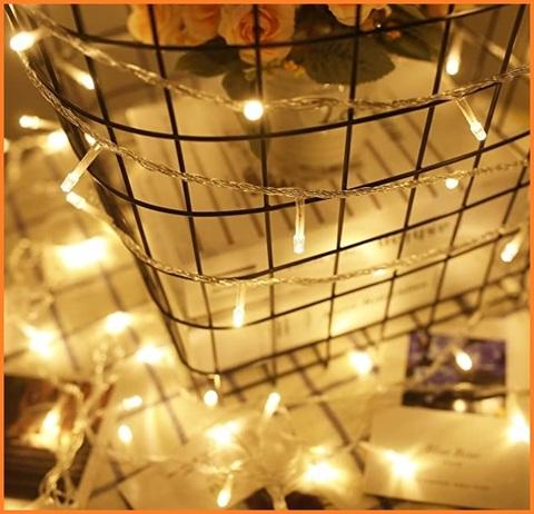 Luci luminose led spina decorative per le feste