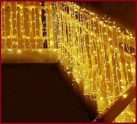 Luci per natale balcone 300 led