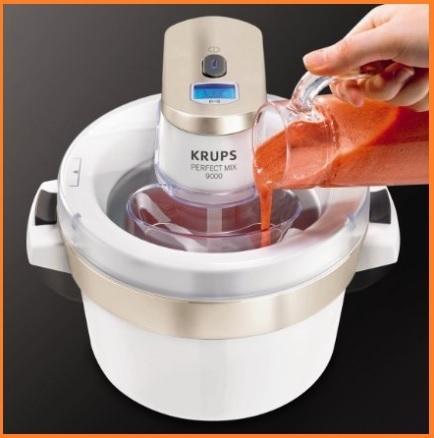 Macchine automatiche per gelati direttamente a casa