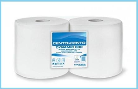 Carta asciugamani cellulosa