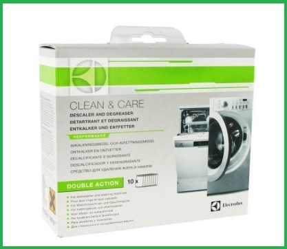 Lavastoviglie e detergente electrolux