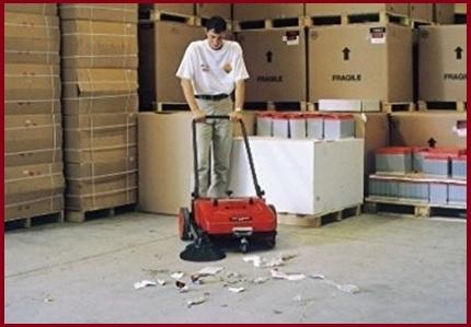 Spazzatrice manuale pulitron