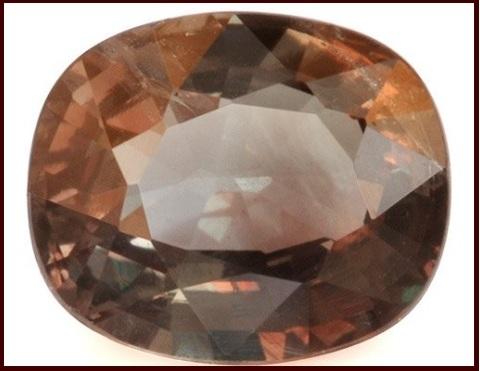 Alessandrite pietra naturale