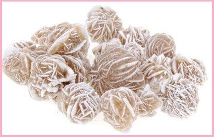 Rosa del deserto minerale