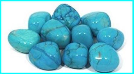 Turchese minerale howlite