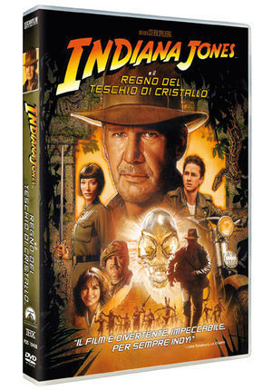 "Indiana Jones In ""il Regno Del Teschio Di Cristallo"""