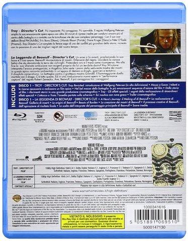 Troy e la leggenda di beowulf - 2 grandi film