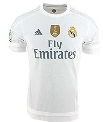 Calcio maglia real madrid fly emirates adidas