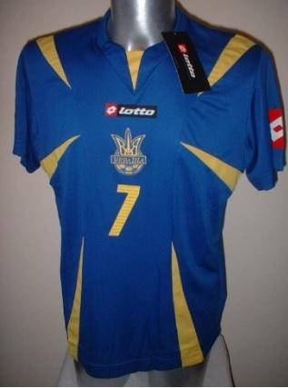 Maglia T Shirt Calcio Lotto Shevchenko Adulti