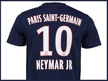 Maglietta psg uomo neymar