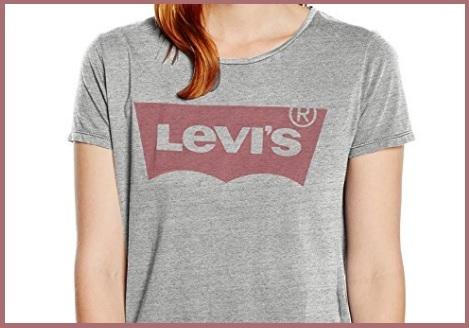 Maglietta Maniche Corte Levi's Logo