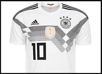 Maglietta Germania Mondiali 2018