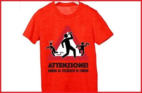 Magliette Addio Al Celibato In Corso