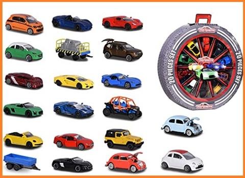 Auto majorette colorate