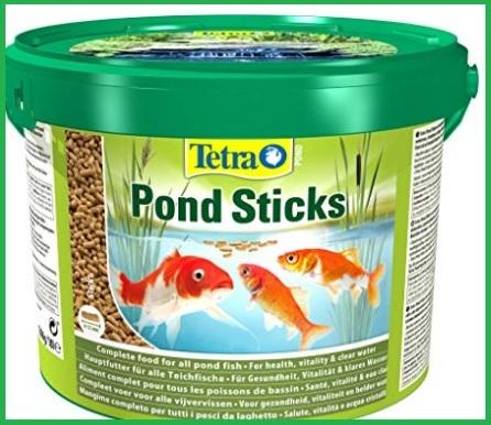 Mangimi per pesci rossi
