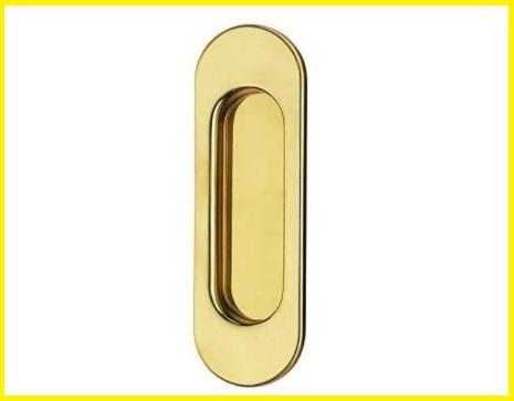 Maniglia porta scorrevole ottone