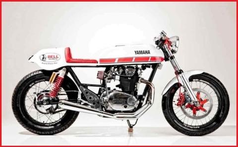 Marmitta moto cafe racer
