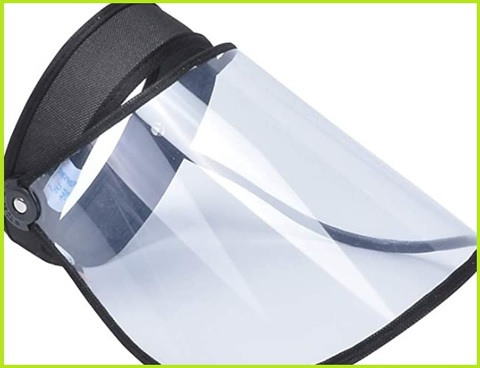Maschera trasparente visiera