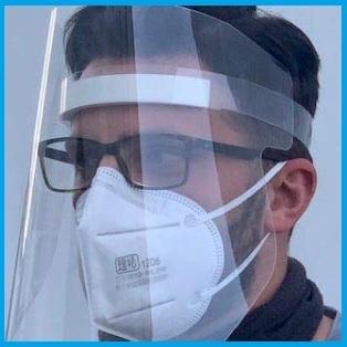 Visiera protezione viso