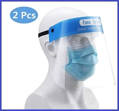 Visiera sicurezza facciale