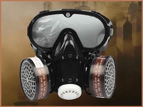 maschera antipolvere edilizia