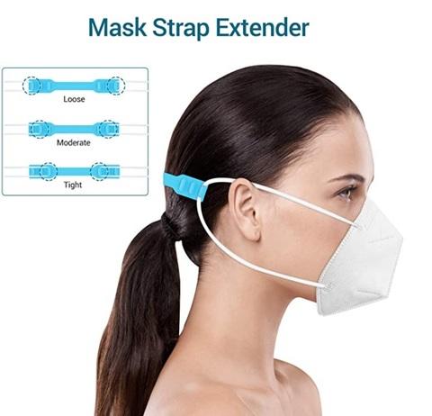 Maschera regolabile bianche