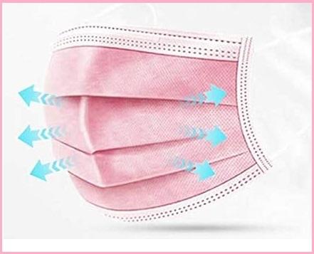 Mascherine riutilizzabili con filtro carboni