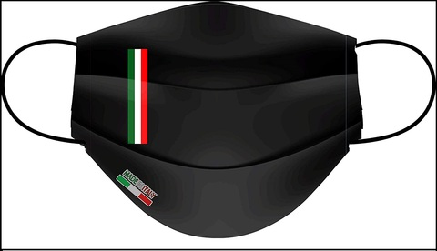 Mascherine Nere Lavabili Italiane