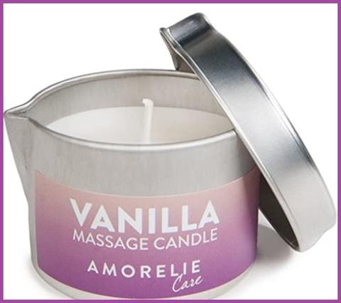 Benessere corpo massaggio candela