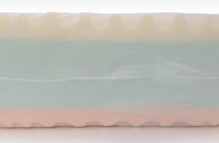 Materasso memory foam ergonomico 3 strati marcapiuma