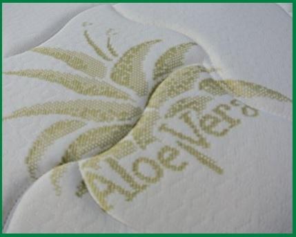 Cuscino Guanciale Baldiflex Fiocco Aloe Vera