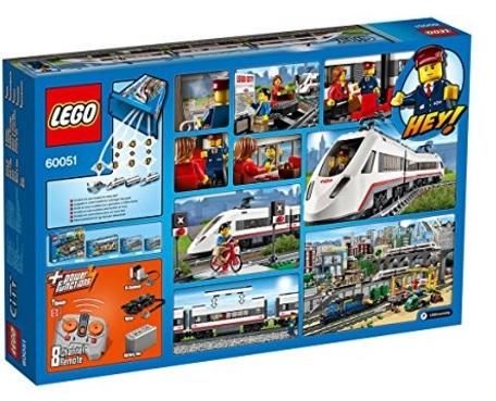 Lego city treno con passeggeri