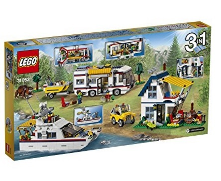 Lego costruzioni vacanza camper 3 in 1