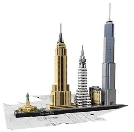 Lego Architettura New York City Edifici Più Famosi