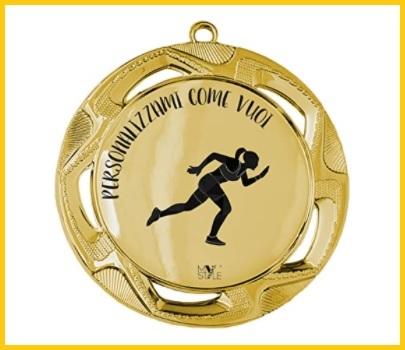 Medaglia Personalizzata Oro