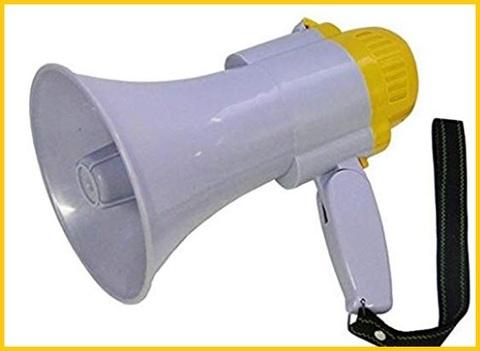Megafono professionale con microfono