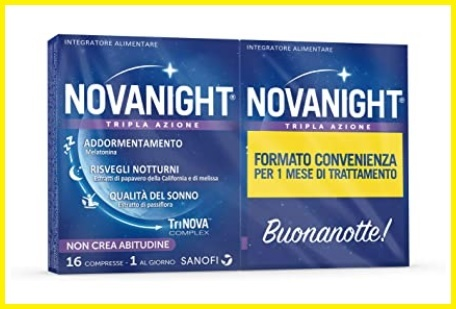 Melatonina Compresse Nova Night
